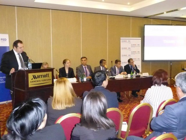 "Presentation of Baseline Assessment Report: ""Awareness, Literacy, Access and Usage of Financial Services by MSMEs in Regions of Armenia"""
